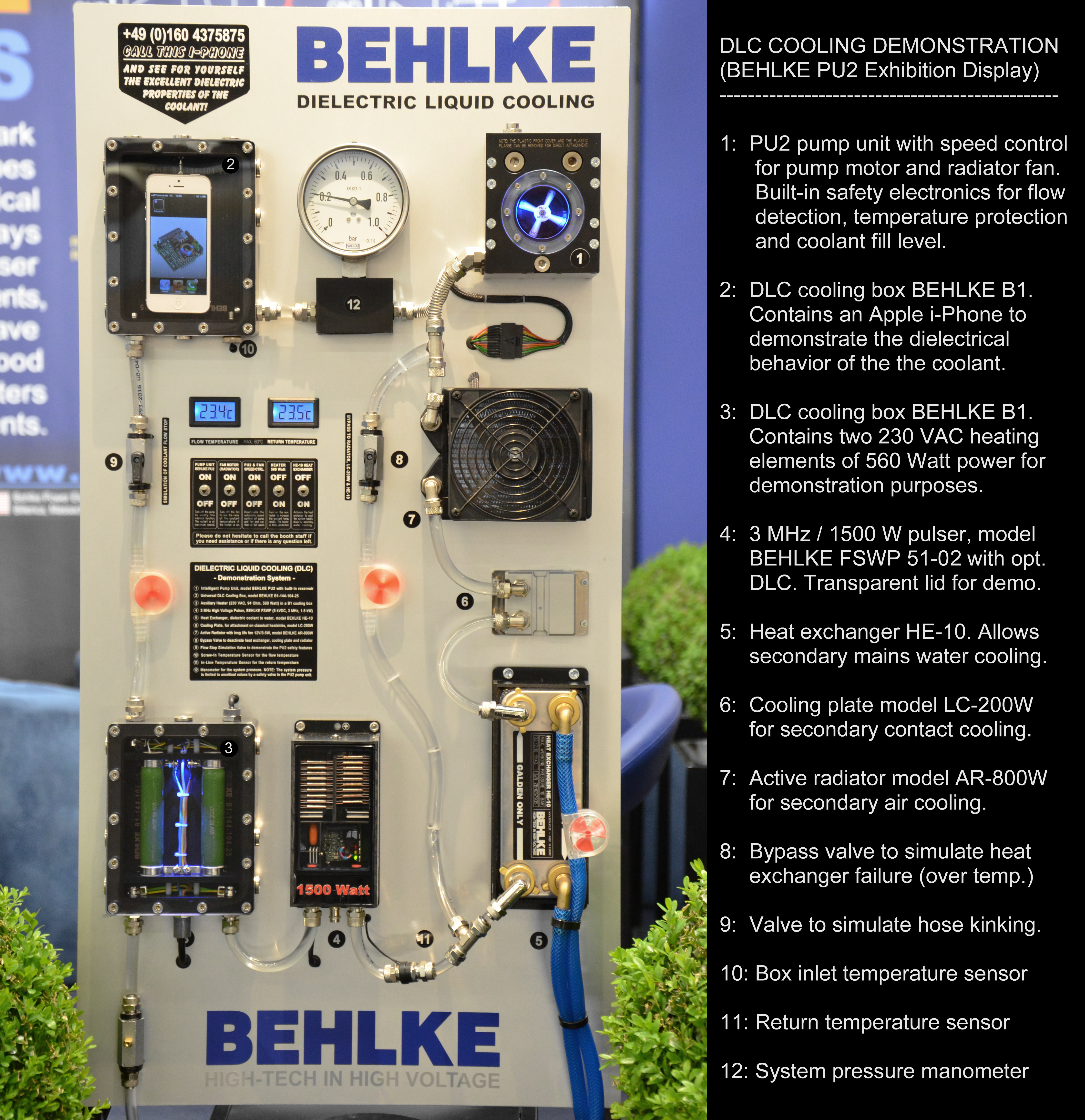 Behlke Catalog F Engine Coolant Fan Temperature Switch Technical Note Dlc Cooling Systems Can Be Operated With Galden Or Any Other Similar Pfpe Pfc Hfe Heat Transfer Fluid